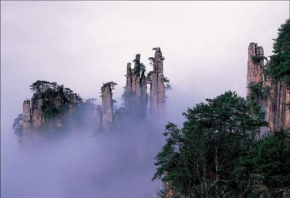 天子山——御笔峰